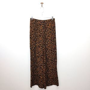 Band of Gypsies lightweight leopard wide leg pants